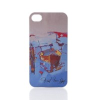Biggdesign Apple iPhone 5 Beyaz Kapak 043