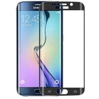 Teleplus Samsung Galaxy S7 Edge Cam Ekran Koruyucu Kavis Kısmı Dahil Siyah