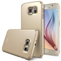 Ringke Samsung Galaxy S6 Royal Gold Ringke Slim Kılıf