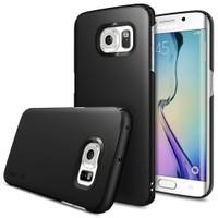 Ringke Samsung Galaxy S6 Edge SF Black Ringke Slim Kılıf
