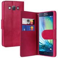 Teleplus Samsung Galaxy A5 Cüzdanlı Kılıf Pembe