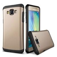 Teleplus Samsung Galaxy A7 Çift Katmanlı Rubber Kılıf Sarı