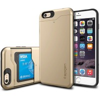 Spigen Apple 6s Plus/6 Plus Kılıf Slim Armor CS Champagne Gold - 10913