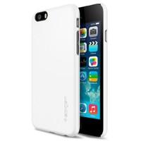 Spigen Apple iPhone 6S/6 Thin Fit Serisi Shimmery White (PET) Kılıf - 10937