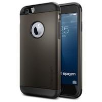 Spigen Apple iPhone 6S/6 Kılıf Slim Armor Serisi Gunmetal - 10959
