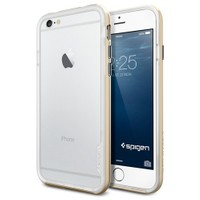 Spigen Apple iPhone 6S/6 Kılıf Neo Hybrid EX Serisi Champagne Gold - 11028