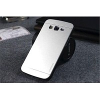 Teleplus Samsung Galaxy A3 Alüminyum Arka Kapak Kılıf Gri