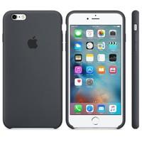 Apple iPhone 6/6S Plus Silikon Kılıf Kömür Grisi (İthalatçı Garantili)