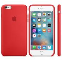 Apple iPhone 6/6S Plus Silikon Kılıf Kırmızı (İthalatçı Garantili)