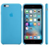 Apple iPhone 6/6S Plus Silikon Kılıf Mavi (İthalatçı Garantili)
