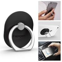 Spigen Telefon Halkası Style Ring Selfie Yüzüğü / Araç Tutacağı - Stand Black - SGP11845