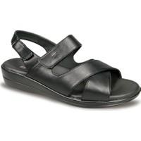 Ceyo Kadın Sandalet Siyah 9863-12