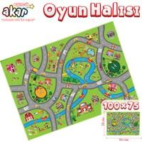 Akar Oyuncak Oyun Halısı Cıty 100 x 75 cm