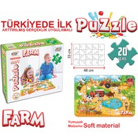 Akar Oyuncak Jagu 33X48 Cm Puzzle Farm