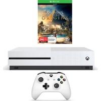 Microsoft Xbox One S 500GB Oyun Konsolu + Assassins Creed Origins Bundle