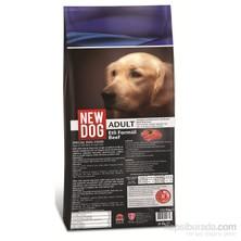 New Dog Sığır Etli Yetişkin Köpek Maması 15 Kg