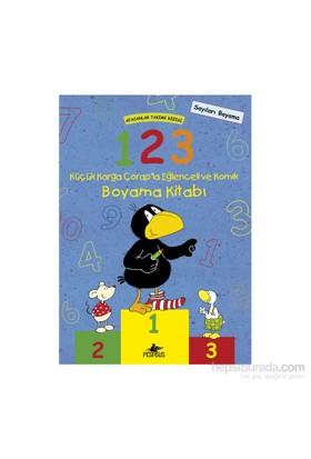 Afacanlar Takımı Dizisi: 1, 2, 3 Küçük Karga Çorap'La Eğlenceli Ve Komik Boyama Kitabı-Annet Rudolph