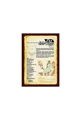 Dörtöğe Felsefe Ve Bilim Tarihi Yazıları Hakemli Dergi Yıl:1 Sayı:1-Yavuz Unat