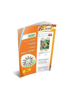 Zambak Yayınları 7. Sınıf Türkçe Yaprak Test