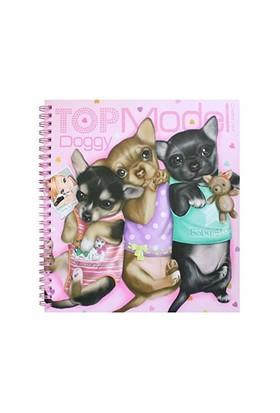 Top Model Doggy Boyama Kitabı