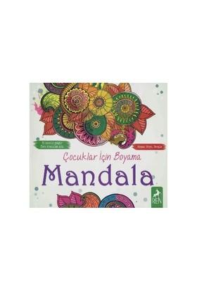 Çocuklar İçin Boyama Mandala-Kolektif