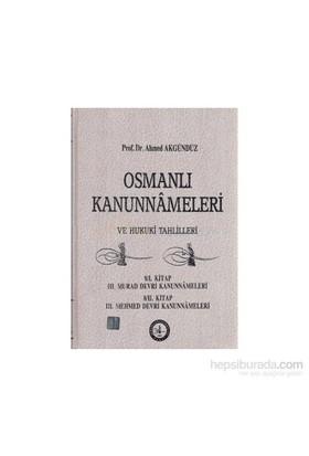 Osmanlı Kanunnameleri Ve Hukuki Tahlilleri Cilt: 8-Ahmed Akgündüz
