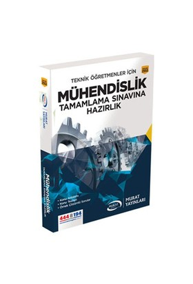 Murat Yayınları Mühendislik Tamamlama Sınavına Hazırlık Kitabı