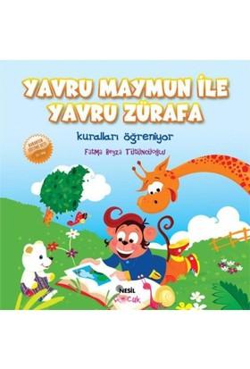 Yavru Maymun ile Yavru Zürafa - Fatma Beyza Tütüncüoğlu