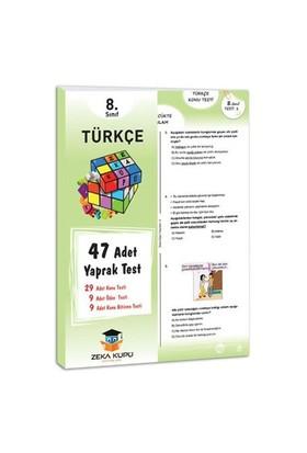 Zeka Küpü Yayınları 8.Sınıf Türkçe Yaprak Test