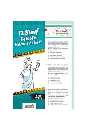 Zambak Yayınları 11. Sınıf Felsefe Yaprak Test