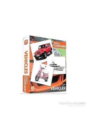 Miracle Flashcards Vehicles - 45 Pictures-Kolektif