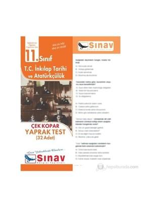 Sınav Dergisi T.C. İnkılap Tarihi Ve Atatürkçülük Yaprak Test (32 Adet)-Kolektif