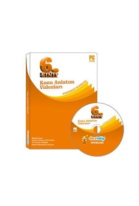 Derstakip 6. Sınıf Tüm Dersler Görüntülü Eğitim Seti Dvd