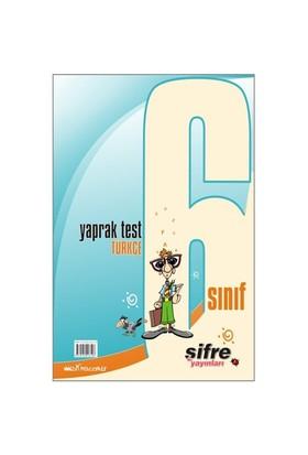 Şifre Yayınları 6. Sınıf Türkçe Yaprak Test