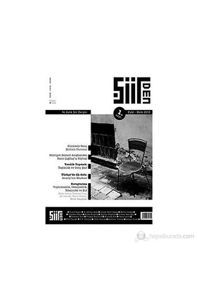 Şiirden Dergisi Sayı: 1-Kolektif
