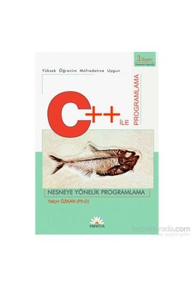 C++ İle Programlama Dili: Nesneye Yönelik Programlama