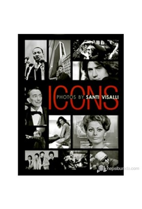 Icons: Photos By Santi Visalli (English/Italian Text)-Danilo Cecchi