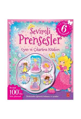 Sevimli Prensesler Oyun Ve Çıkartma Kitabım-Kolektif