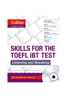 Collins Skills For The Toefl İbt Listening And Speaking +3 Cds-Kolektif