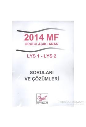 Özgül 2014 MF Grubu Açıklanan LYS 1-LYS 2 Soruları ve Çözümleri