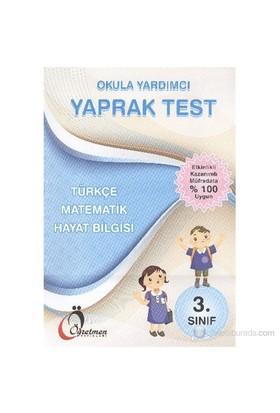 Öğretmen 3. Sınıf Tüm Dersler Yaprak Test - Fatma Güvel