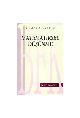 Matematiksel Düşünme - Cemal Yıldırım