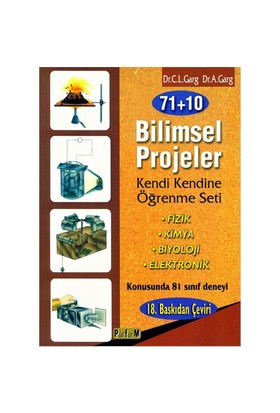 71+10 Bilimsel Projeler - A. Garg