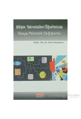 Bilişim Teknolojileri Öğretiminde Sosyo-Psikolojik Değişkenler