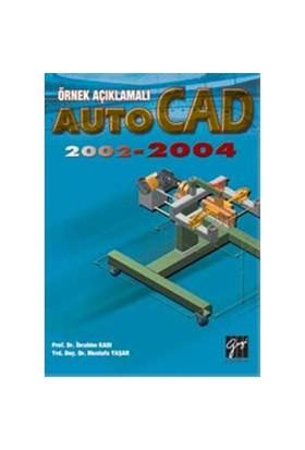 Örnek Açıklamalı Autocad 2002 - 2004
