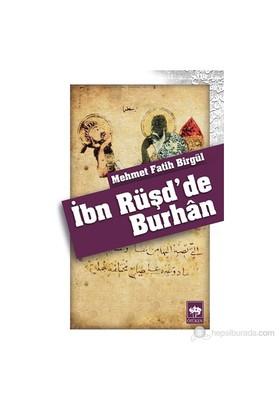 İbn Rüşd'De Burhân-Mehmet Fatih Birgül