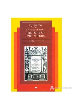 Richard Knolles History Of The Turks-Vernon J. Parry
