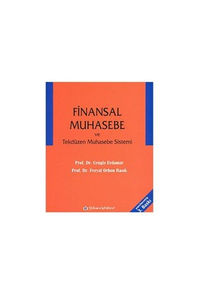Finansal Muhasebe Ve Tekdüzen Muhasebe Sistemi