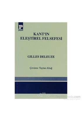 Kantın Eleştirel Felsefesi-Gilles Deleuze