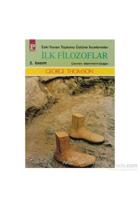 İlk Filozoflar-George Thompson